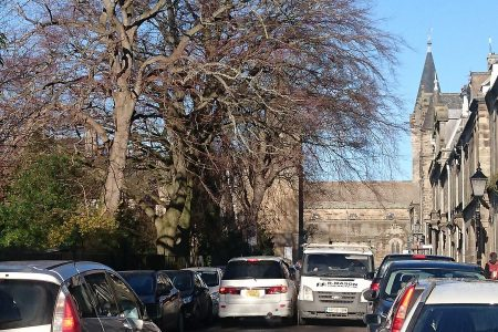 Queen's Gardens one way with contraflow – an end to this?