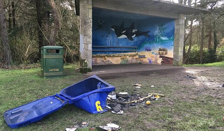 Call for demolition of Cockshaugh Park shelter