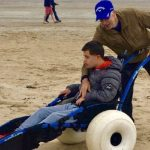 Support for West Sands wheelchair project