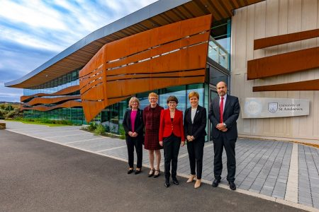 First Minister opens Scottish Oceans Institute