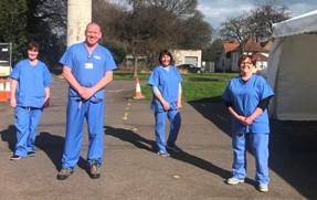 NHS Fife launches coronavirus drivethrough testing for frontline staff