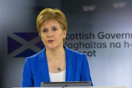 "First Minister opens discussion on ""new normal""."