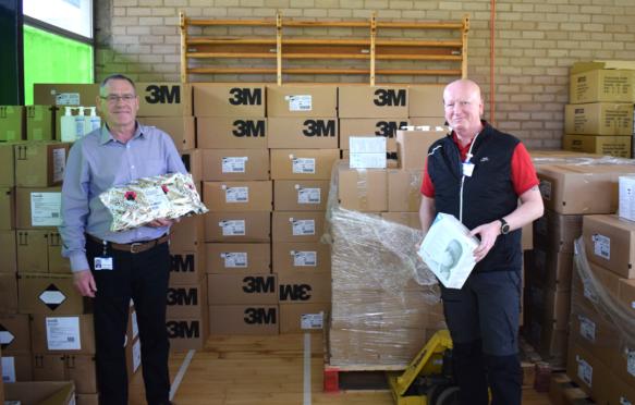 NHS Fife sets up PPE distribution hub