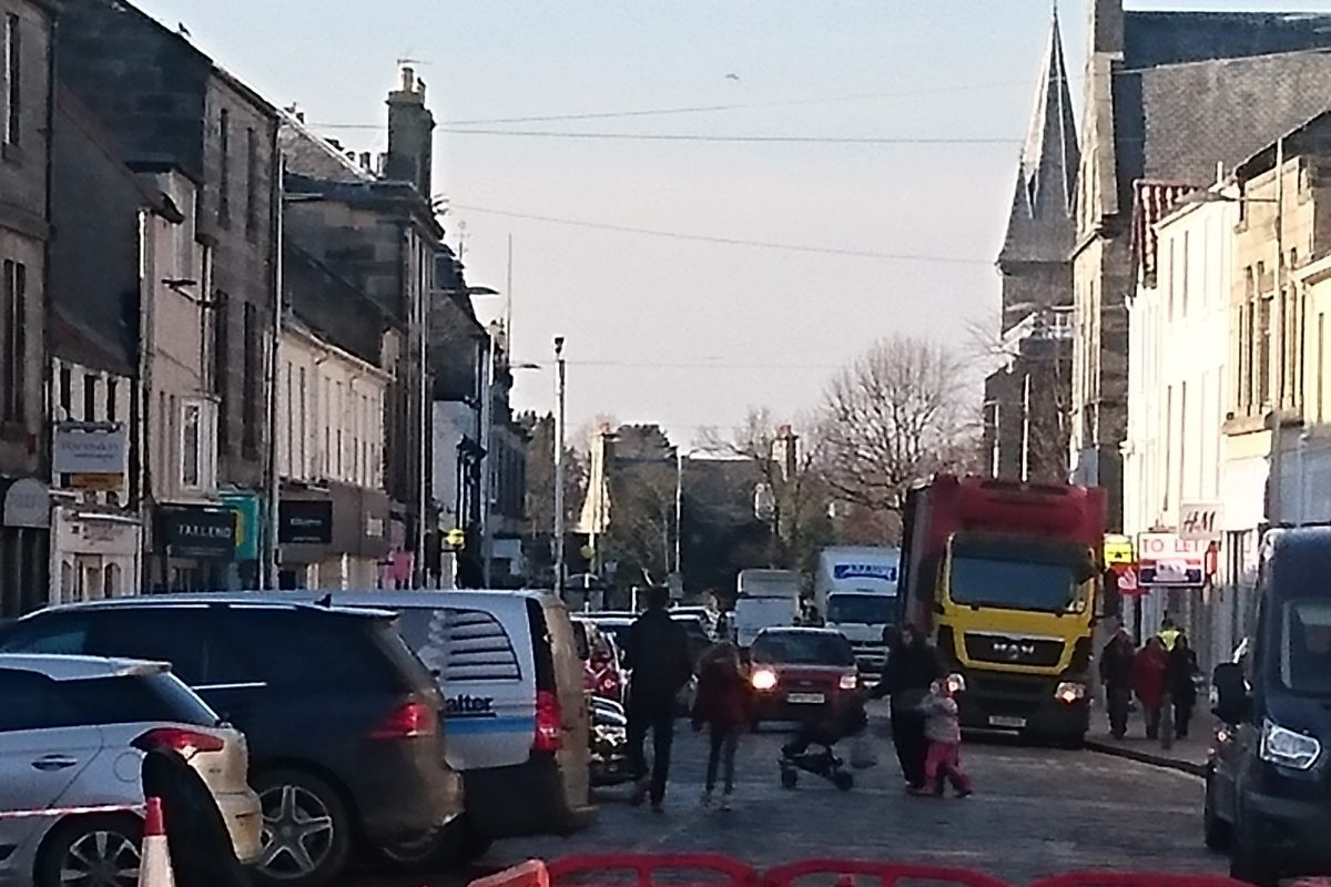 Radical changes to traffic management for post-lockdown St Andrews?