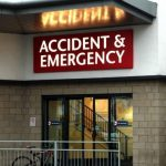 Patients held in ambulances outside A&E